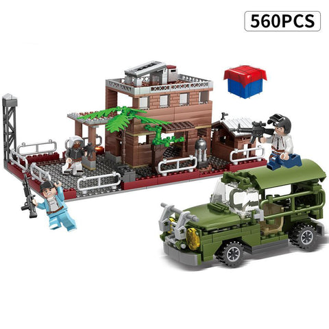 PUBG Battleground Set Lego Compatible 560 Pieces - Bluejay Goods