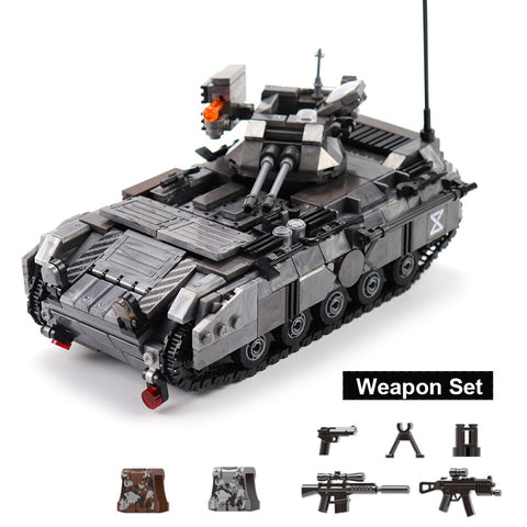 1049PCS Armored Vehicle Truck Toys - Bluejay Goods