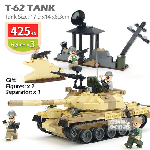 Military WW2 Main battle Tank Vehicle Toy - Bluejay Goods