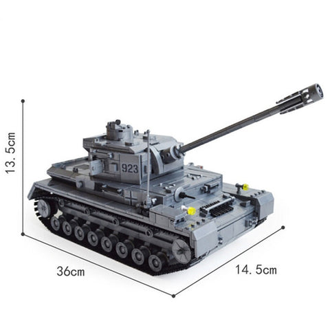 Large Battle Tank Collection Brick Set Toys - Bluejay Goods
