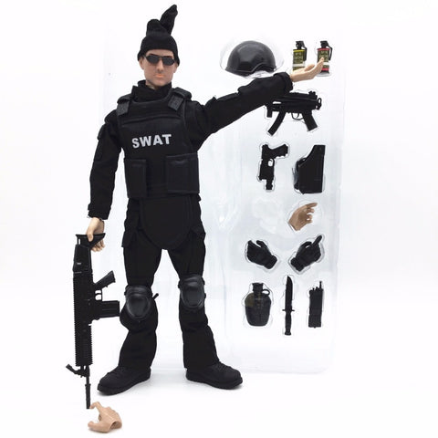SWAT Action Figure Model Toy - Bluejay Goods