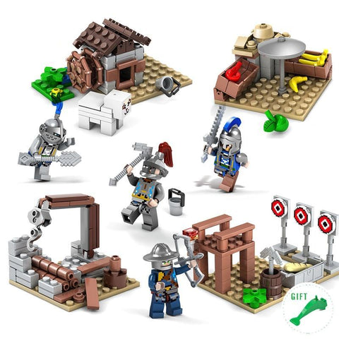 Medieval Army Sets Lego Compatible - Bluejay Goods