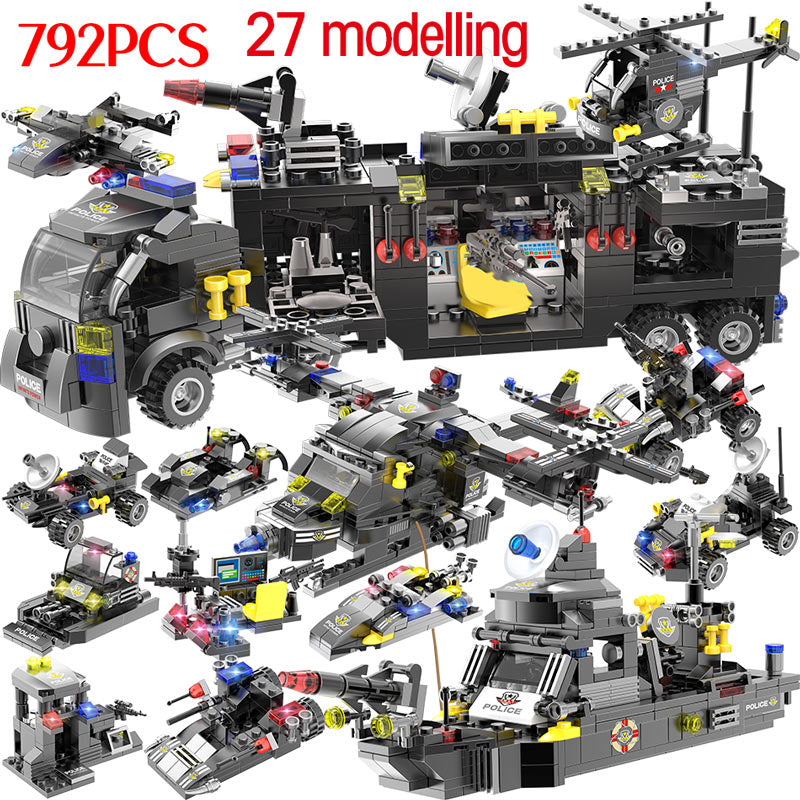 1720PCS SWAT Series Vehicle Set - Bluejay Goods
