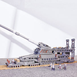 3846pcs WW2 Military Schwerer Gustav/Dora Brick Set - Bluejay Goods