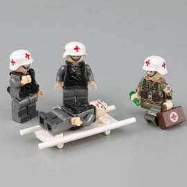 WW2 Military Medical Soldier Minifigures Toy - Bluejay Goods