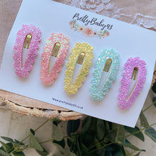Bright Rainbow snap clips (4648218198081)