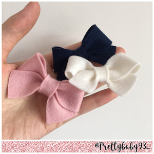 Thick tie bow