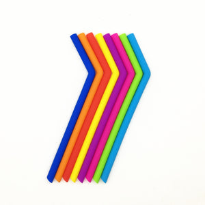 These toxin-free silicone straws are perfect for kids, the elderly and people with disabilities.