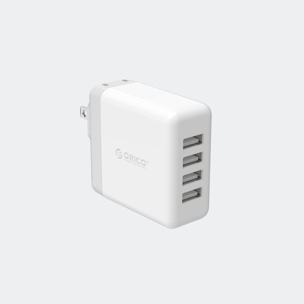4-Port USB Wall Charger - Chozn