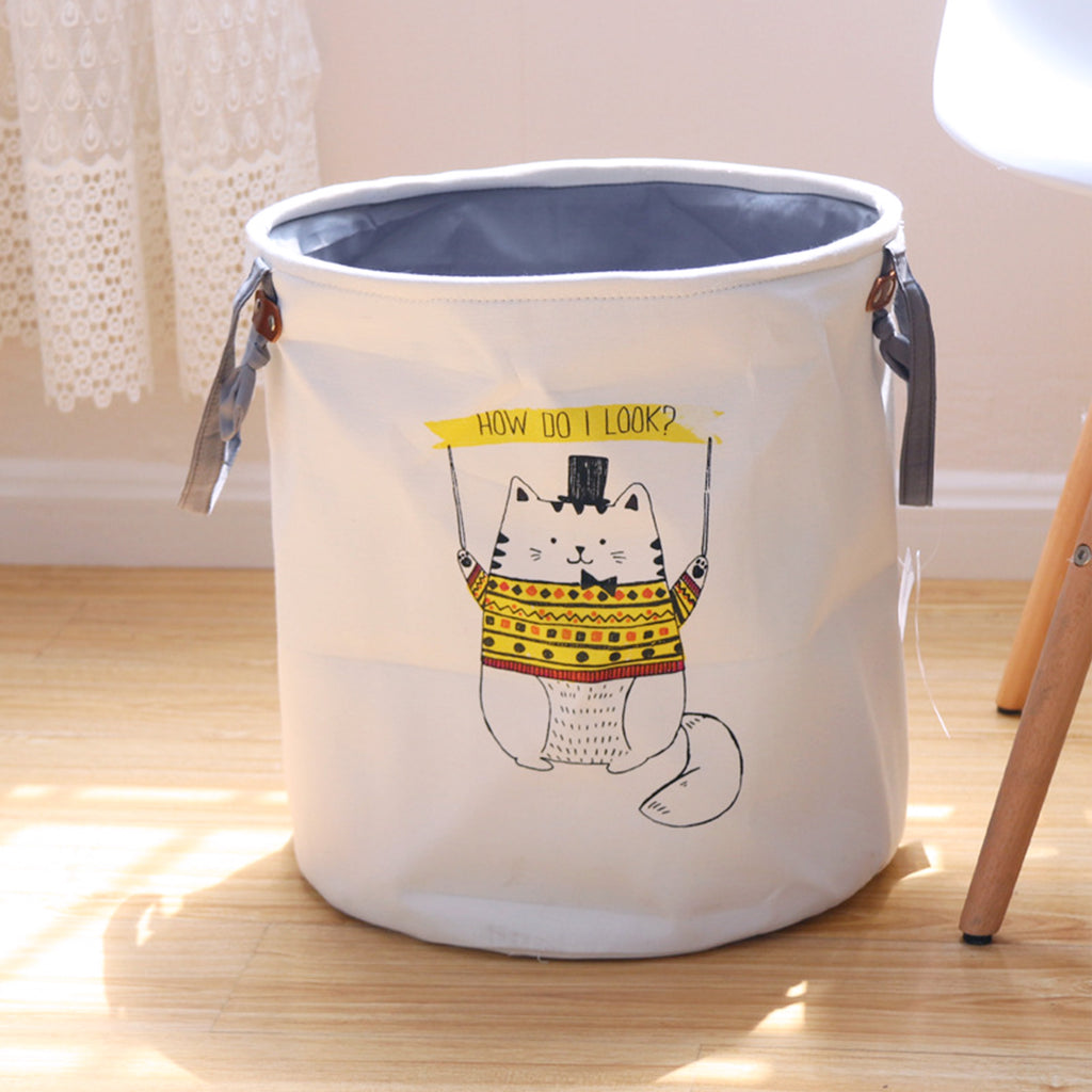 Cartoon Laundry Basket - Chozn