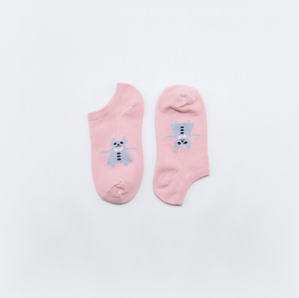 Cartoon Low-Cut Socks - Chozn