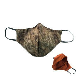Dual Layer Cotton Face Mask - Humboldt Batiks