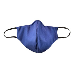 Dual Layer Cotton Face Mask - Navy