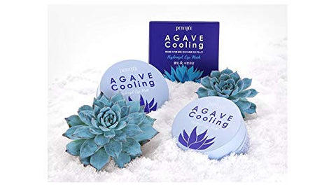PETITFEE - Agave Cooling Hydrogel Eye Mask 60pcs