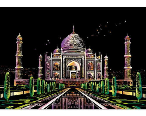 Enchanting Art Drawing Board (FAMOUS WORLD PLACES) Buy 1 Design Take 1 Design Free - Pinay Mommy 101