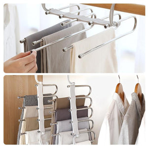 Limited time sale-Multi-Functional Pants Rack(Buy 2 FREE SHIPPING)