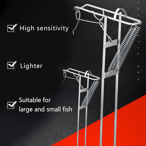 Spring Loaded Fish Detecting Rod Holder-Buy 3 Free Shipping