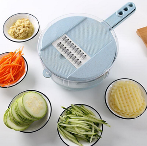 12-in-1 Multi-Function Easy Food Chopper-Buy 2 Free Shipping