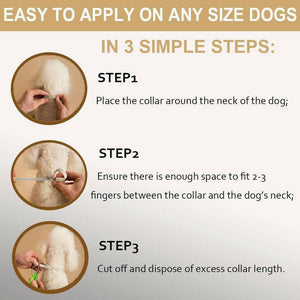 FLEA AND TICK COLLAR FOR DOGS&CATS-BUY 2 FREE SHIPPING