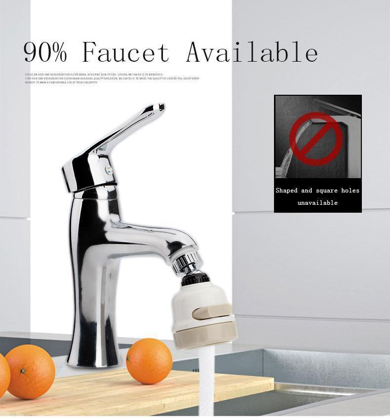 3 Mode High Pressure Faucet Sprayer Tap Nozzle