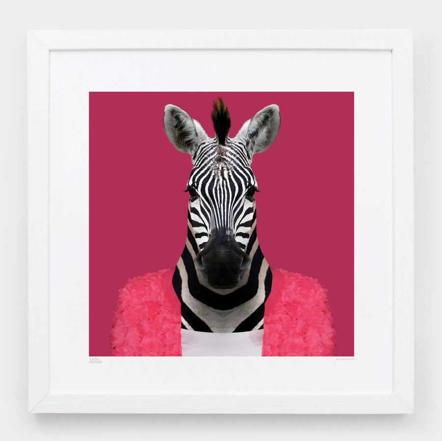 Yago Partal Raila, the Zebra - Evermade