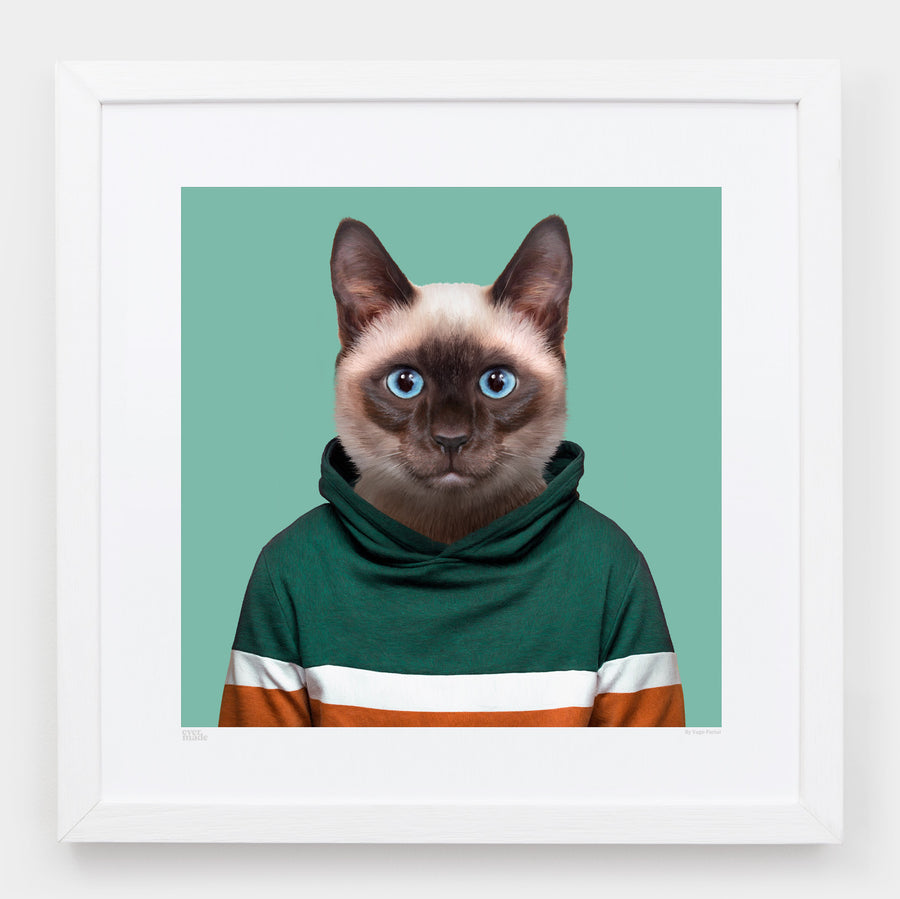 Yago Partal Somchai, the Siamese Cat - Evermade