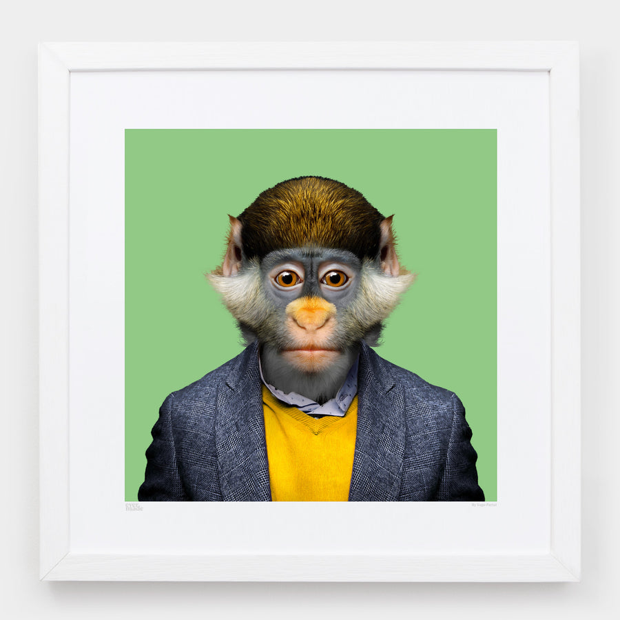 Yago Partal Wenny, the Red-tailed Monkey - Evermade
