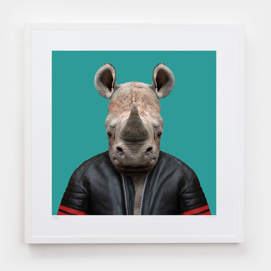 Yago Partal Baruti, the White Rhinoceros - Evermade