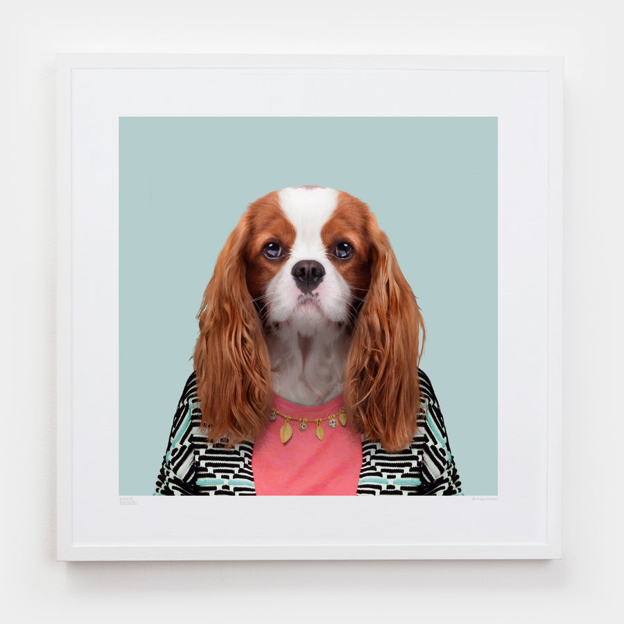 Yago Partal Amelia, the Cavalier King Charles Spaniel - Evermade