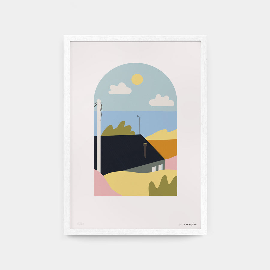 Marzia art print Mai Accents Camber Sands UK