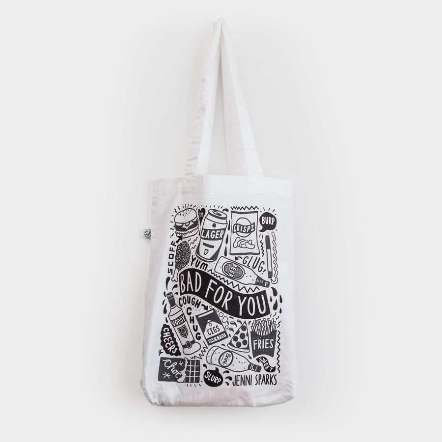 Bad For You - Tote Bag - Evermade