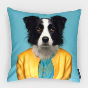 Yago Partal Border Collie Cushion - Evermade
