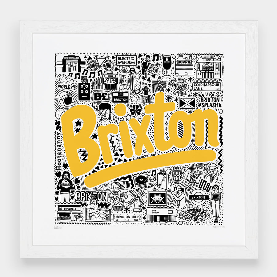 Brixton Hometown Print - Evermade