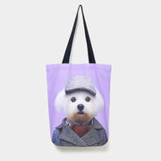 Yago Partal Maltese - Zoo Portrait Tote Bag - Evermade