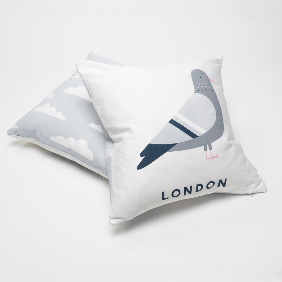 Evermade Studio London Pigeon Cushion - Evermade