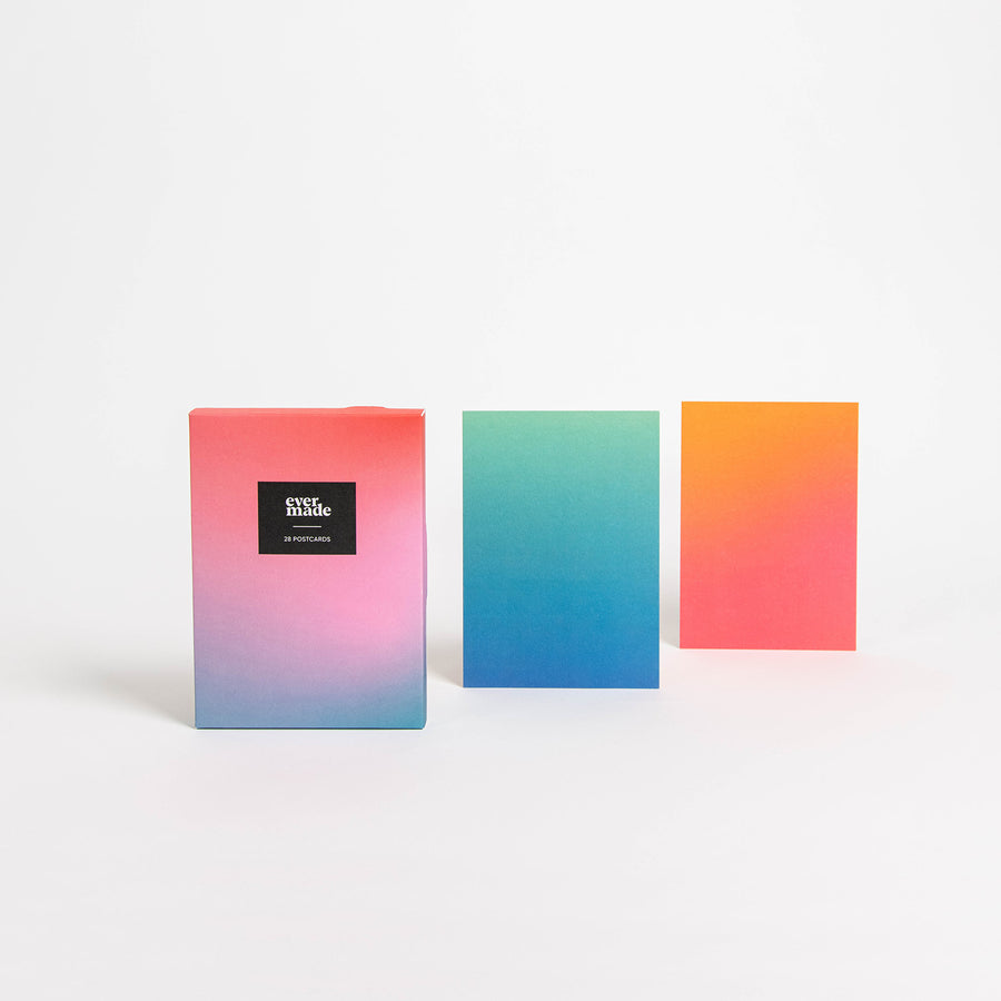 Gradient Postcard Set - Evermade