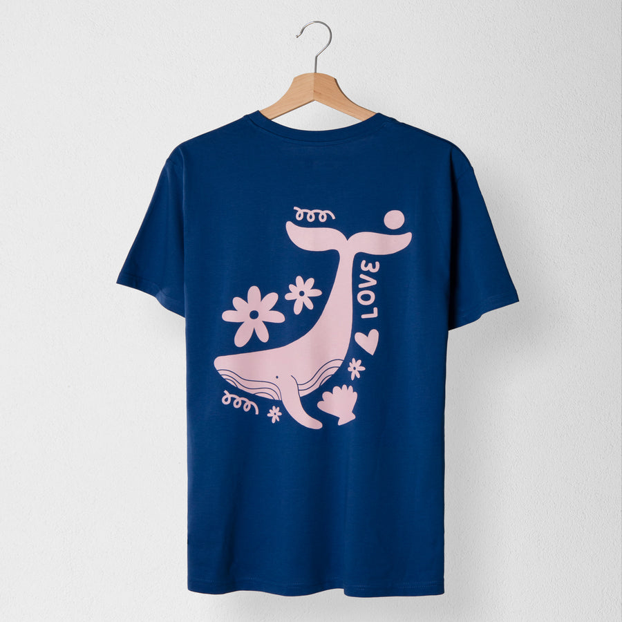 Whale Unisex T-shirt - Evermade