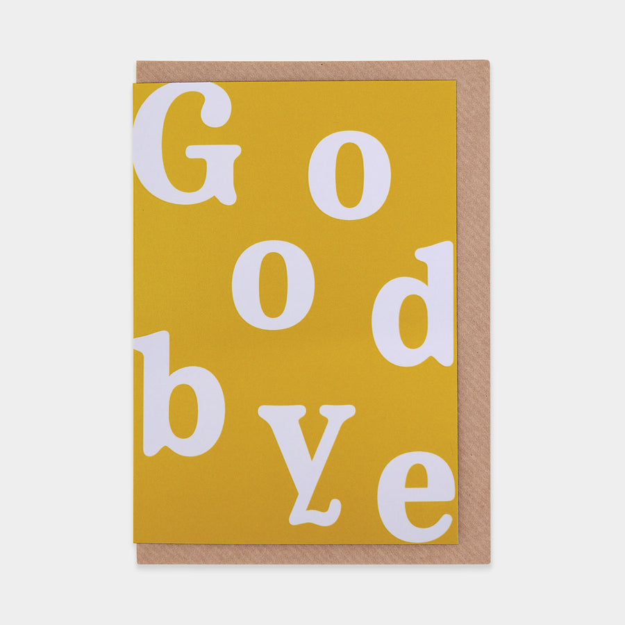 Word Play Goodbye - Evermade