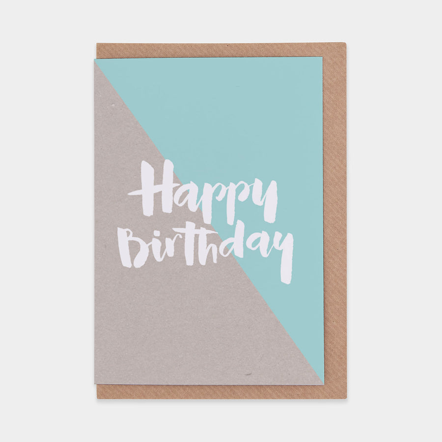 Evermade Studio Happy Birthday Kraft (Green) - Evermade