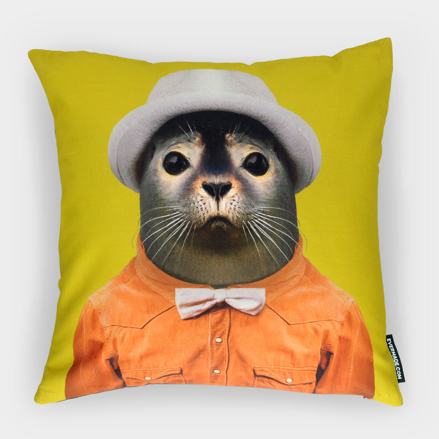 Yago Partal Harbour Seal Cushion - Evermade