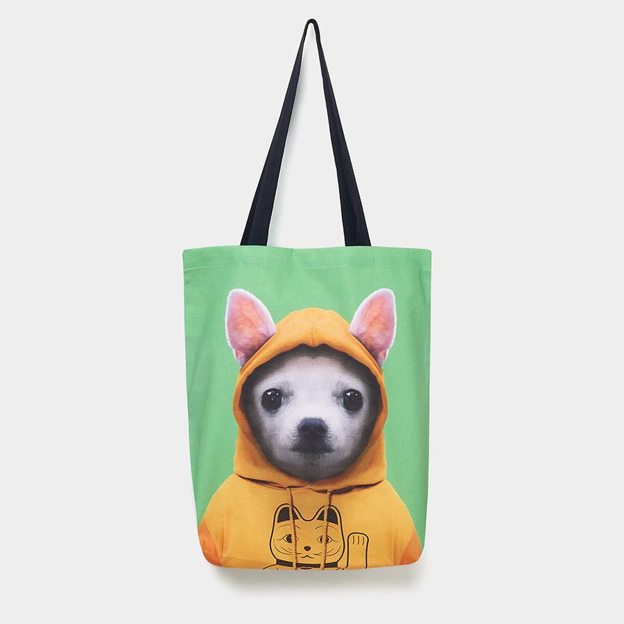 Yago Partal Chihuahua - Zoo Portrait Tote Bag - Evermade