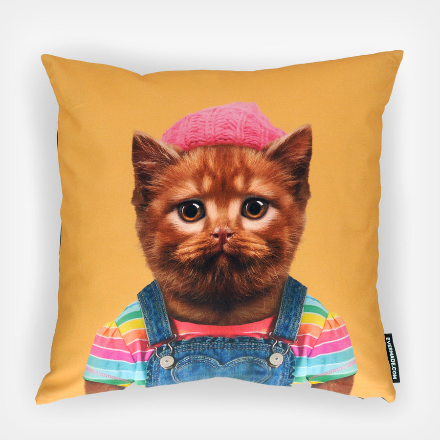 Yago Partal Kitten Cushion - Evermade