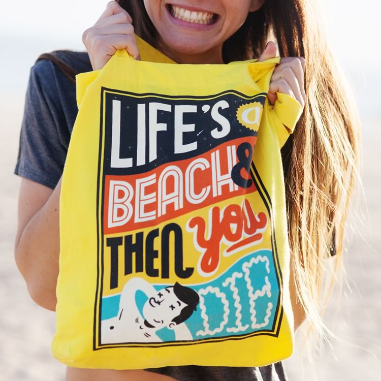 Evermade Studio Life's a Beach - Tote Bag - Evermade