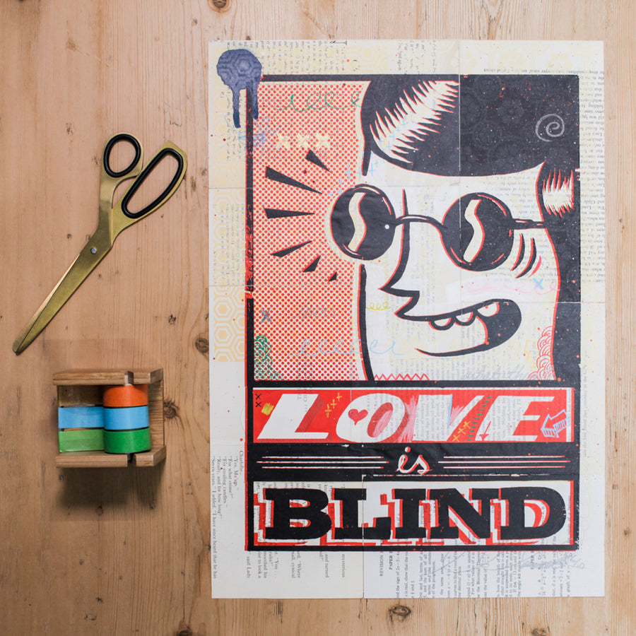 Sam Bevington Love is Blind - Evermade