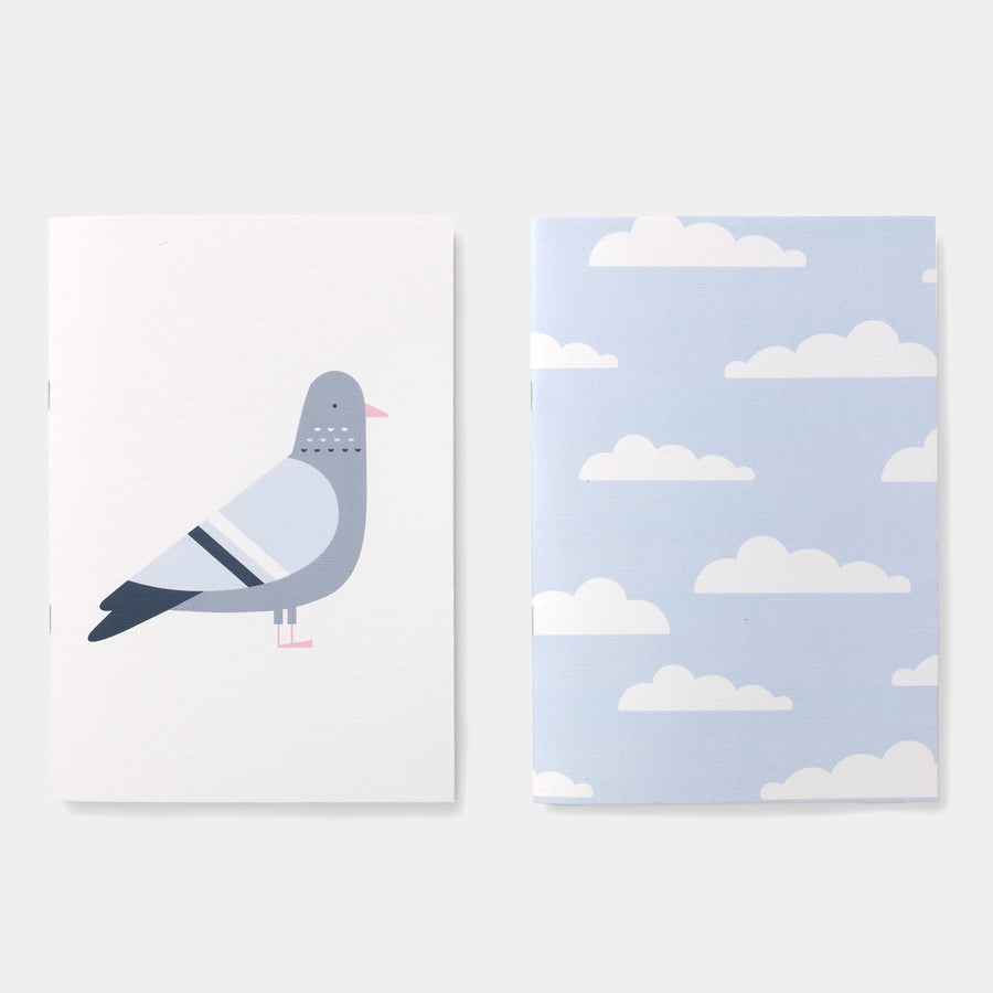 Evermade Studio Grey Skies Notebooks - Evermade