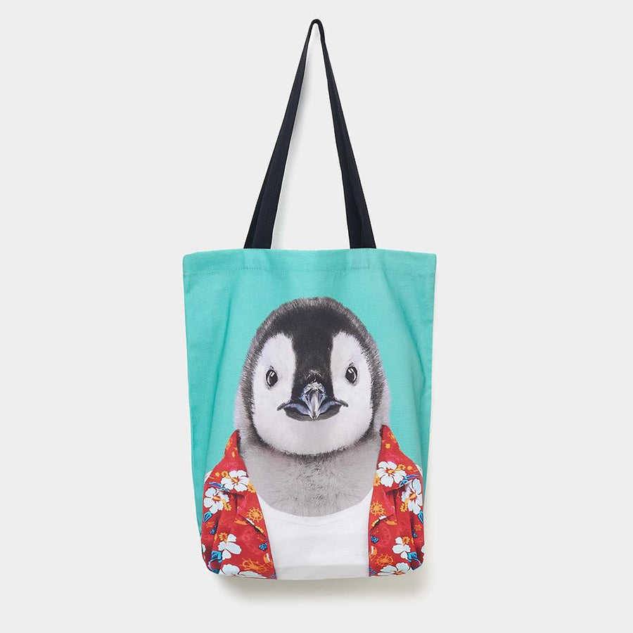 Penguin - Zoo Portrait Tote Bag - Evermade