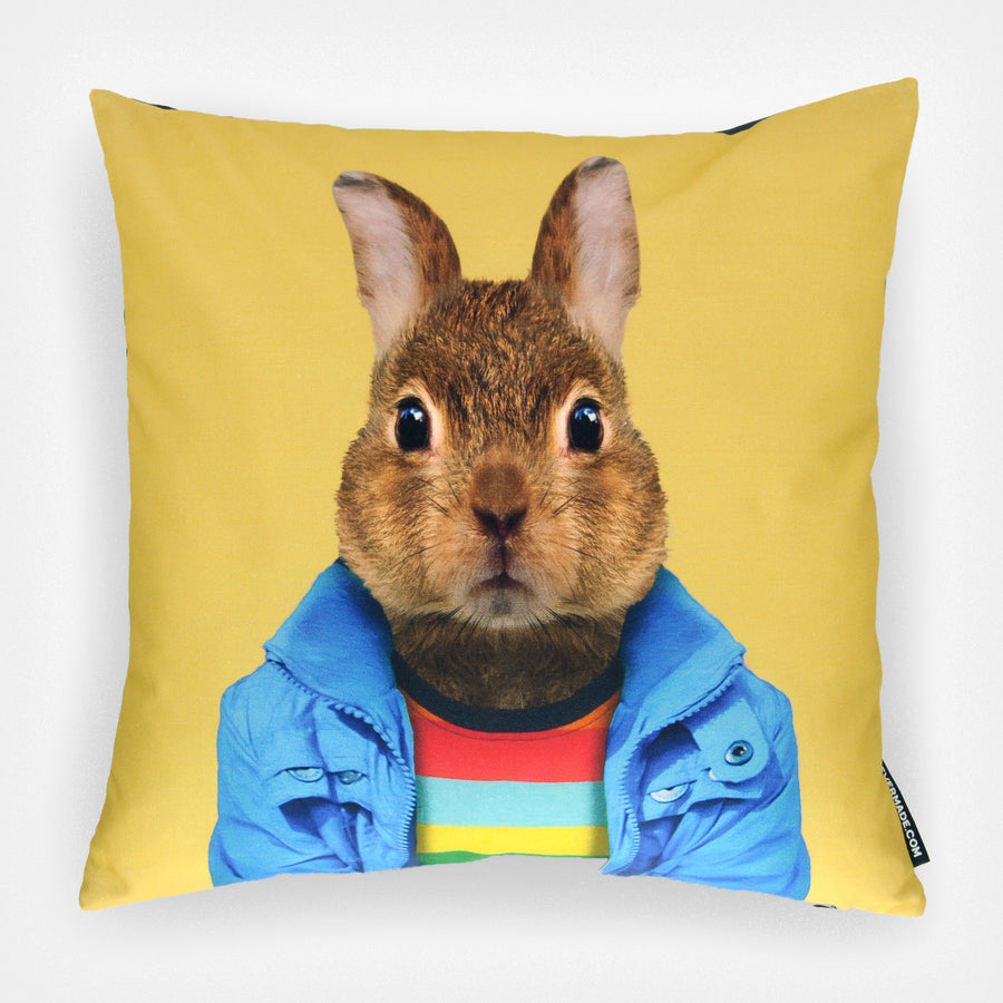 Yago Partal Rabbit Cushion - Evermade