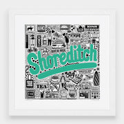 Jenni Sparks Shoreditch Hometown Print - Evermade