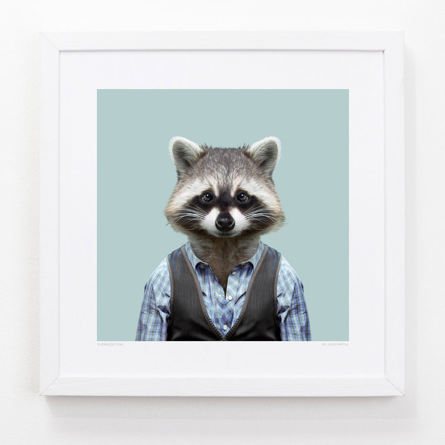 Yago Partal Rascal, the Common Racoon - Evermade