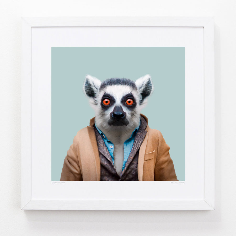 Yago Partal Wesley, the Ring-tailed Lemur - Evermade